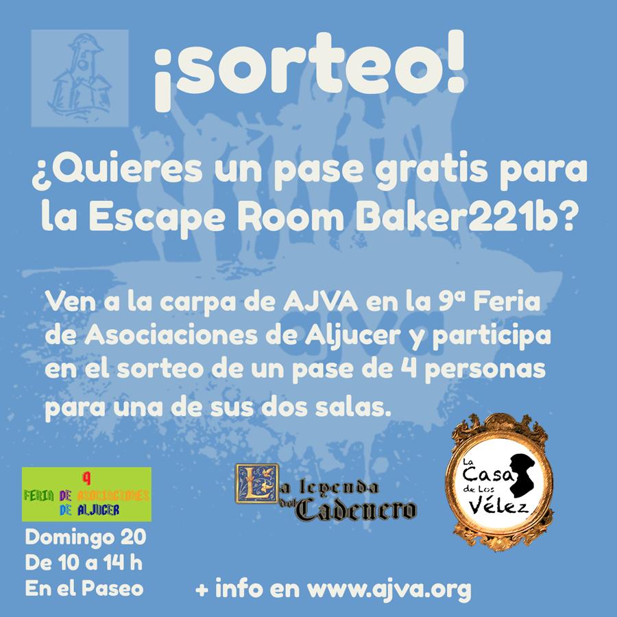 Sorteo escape room